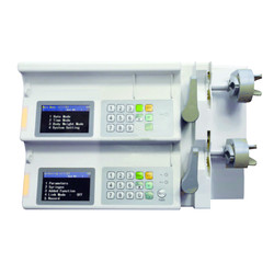 Dual Channel Syringe Pump DCSP-1000D
