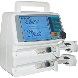 Dual Channel Syringe Pump DCSP-1000E